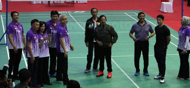 Presiden Jokowi dan Sultan Brunei Darussalam HM Sultan Haji Hassanal Bolkiah (Foto Setkab)