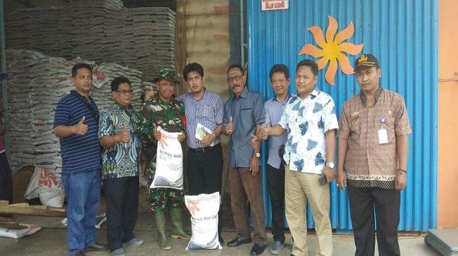 Eko Supriyanto selaku ketua tim sergab segera berkoordinasi terkait kondisi gudang dan daerah potensi panen diwilayah Tulang Bawang