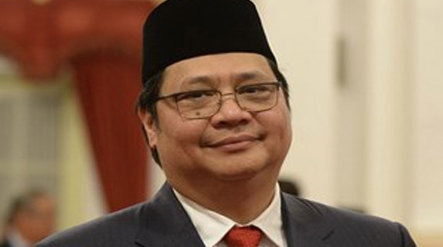 Menteri Perindustrian, Airlangga Hartarto (Xinhua News Agency / Getty Images)