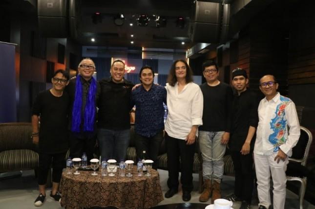 Press Conference sebelum acara bersama Management TP Jazz The Papandayan