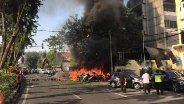 Lokasi Bom di Surabaya (Foto Dok Industry.co.id)
