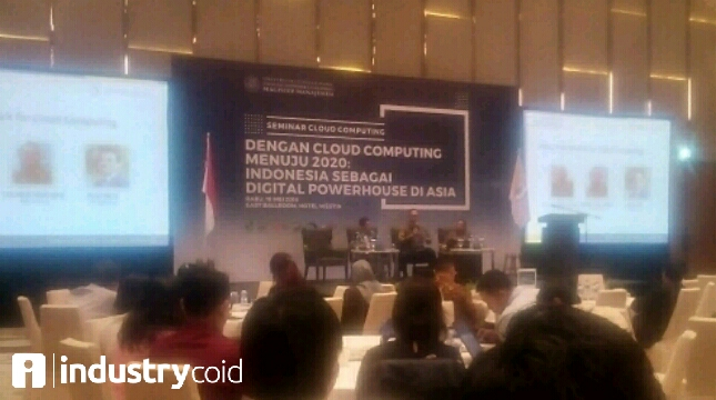 Seminar cloud computing Universitas Gajah Mada (Hariyanto/INDUSTRY.co.id)