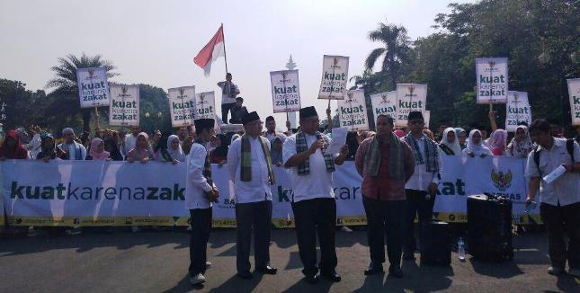 Sambut Ramadan BAZNAS Sampaikan Pesan Damai (Foto Dok Industry.co.id)