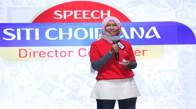 Siti Choiriana, Direktur Consumer Service Telkom