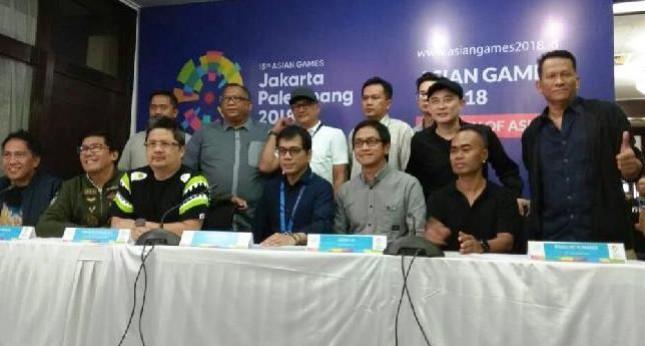 Para seniman Indonesia yang terlibat dalam acara Pembukaan dan Penutupan Asian Games 2018