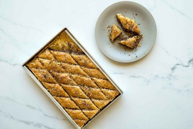 Baklava, menu favorit buka puasa warga India. (Foto Ist)