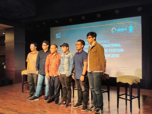 Bekraf Perkenalkan Industri Musik Indonesia di MIDEM 2018 (Foto : Anisa Triyuli)