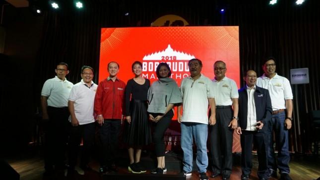 Generali Indonesia memberi perlindungan para pelari Borobudur Marathon