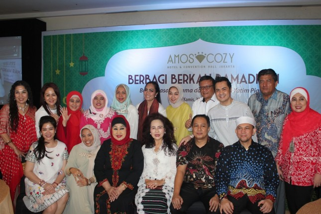 Amos Cozy Hotel & Convention Hall Jakarta Gelar Buka Puasa Bersama HIPPI DKI dan Lions Club