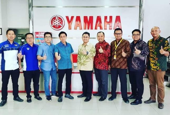Jalin kerjasama antara Adira Insurance dan Yamaha Mataram Sakti (Dok Industry.co.id)