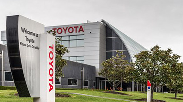 Ilustrasi Pabrik Toyota (Bloomberg/Getty Images)