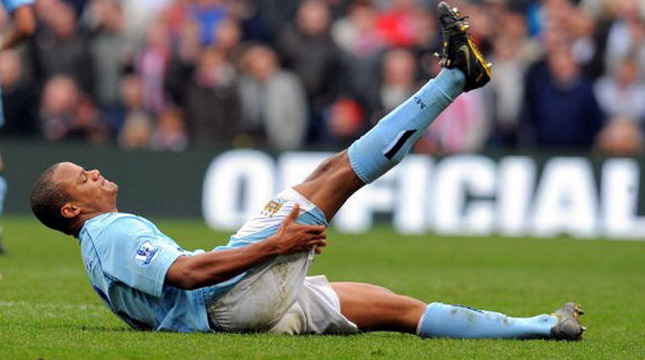 Vincent Kompany (ANDREW YATES/Getty Images)