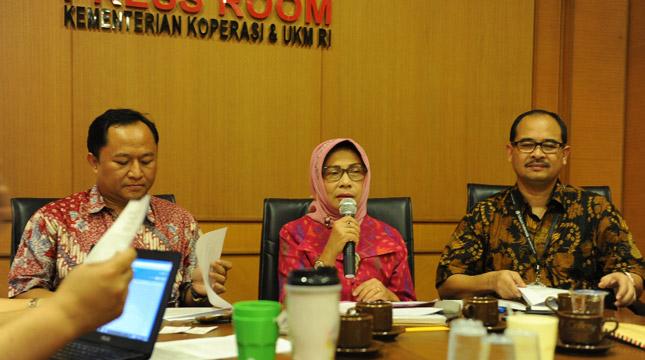 Yuana, Deputi Restrukturisasi Usaha Kementerian Koperasi dan UKM (Ahmad Fadli/INDUSTRY.co.id)
