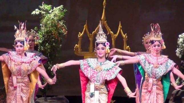Seni Panji asal Thailand yang akan menjadi salah satu tampilan di Festival Panji Internasional 2018