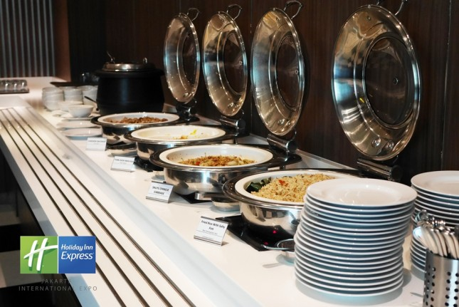 Buffet di Holiday Inn Express