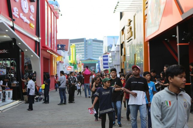 Suasana di Jakarta Fair 2018 (Foto Ist)