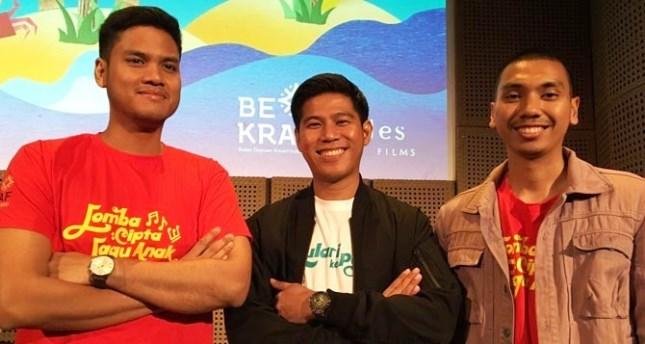 Kelompok RAN yang membawakan OST film Kulari Ke Pantai
