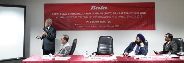 PT Sepatu Bata Tbk (Bata) (Foto Kormen)