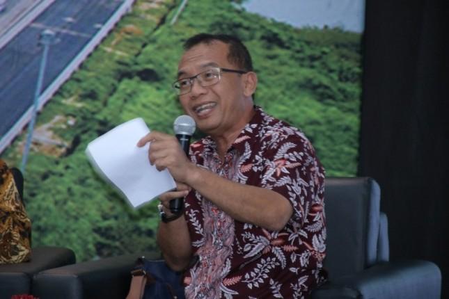 Pengamat Transportasi, Yayat Supriatna dalam Forum Merdeka Barat (FMB) di Ruang Serba Guna Roeslan Abdulgani, Kantor Kementerian Komunikasi dan Informatika, Jakarta, Senin (2/7/2018).