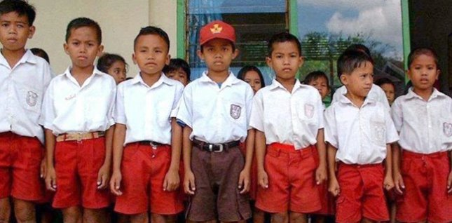 Anak-anak sekolah (Foto Rmol)