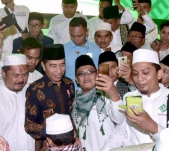 Presiden Jokowi bersama Ulama (Foto Setkab)