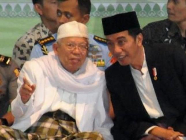 Presiden Jokowi dan Ketum MUI (Foto Setkab)