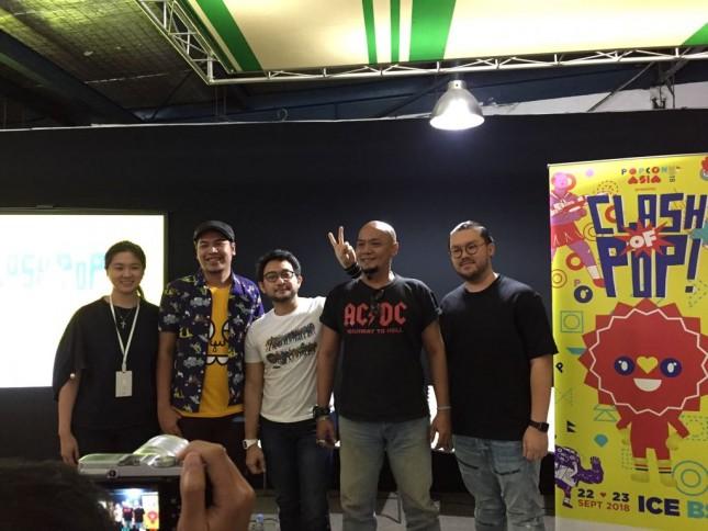 POPCON Asia 2018 Konferensi Pers (Foto: Dina Astria)