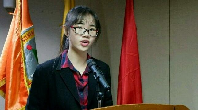 Novela Permata Sari (dok President University)
