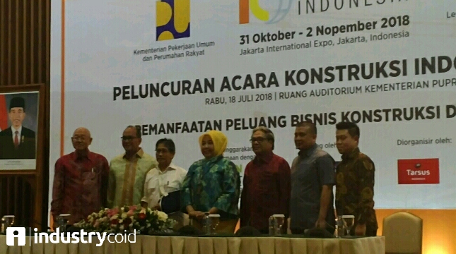 Pembukaan Launching Konstruksi Indonesia (KI) 2018 (Hariyanto/ INDUSTRY.co.id)