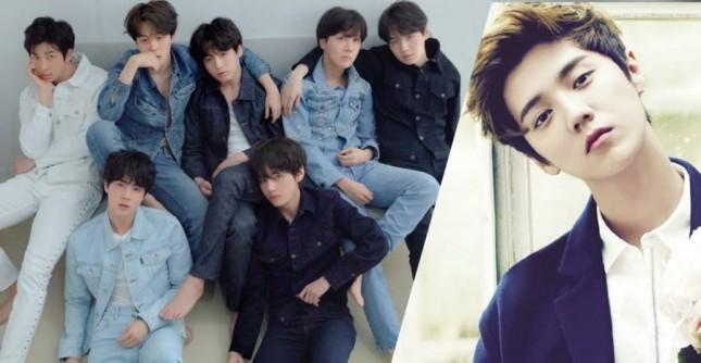 BTS dan Luhan (Foto: Soompi)
