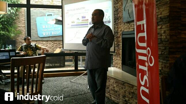 Fujitsu dukung program industry 4.0 (Hariyanto/INDUSTRY.co.id)