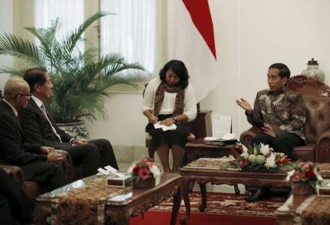Presiden Jokowi dan Deputi PM Singapura (Foto Setkab)