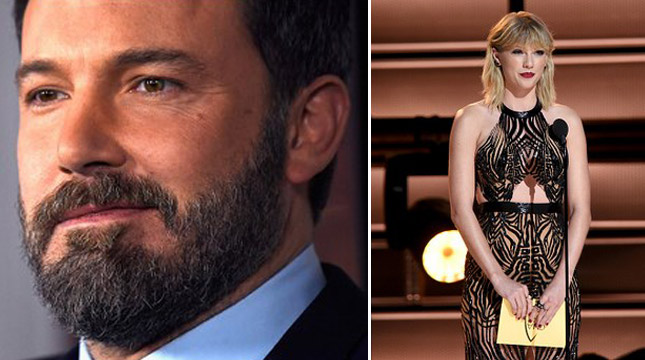 Ben Affleck dan Taylor Swift (Getty Images)