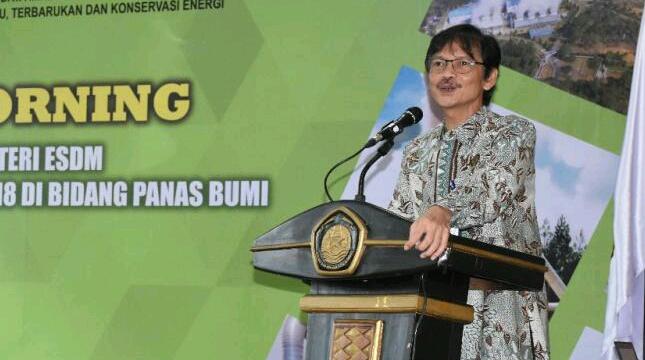 Direktur Jenderal Energi Baru Terbarukan dan Konservasi Energi (EBTKE) Rida Mulyana