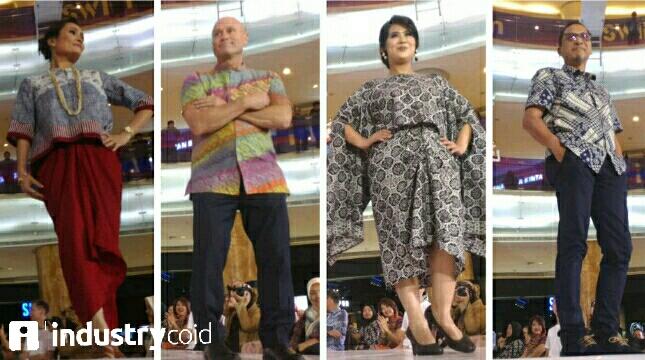Gelaran Fashion Soiree Professional (Hariyanto/INDUSTRY.co.id)