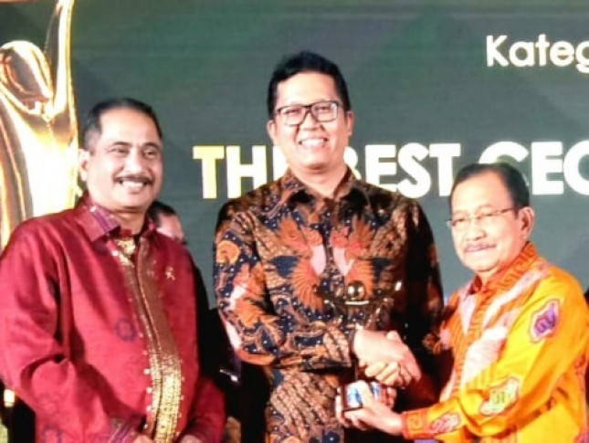GCG Bank BTN Raih Peringkat Pertama pada Ajang Anugerah BUMN 2018 (Foto Abe)