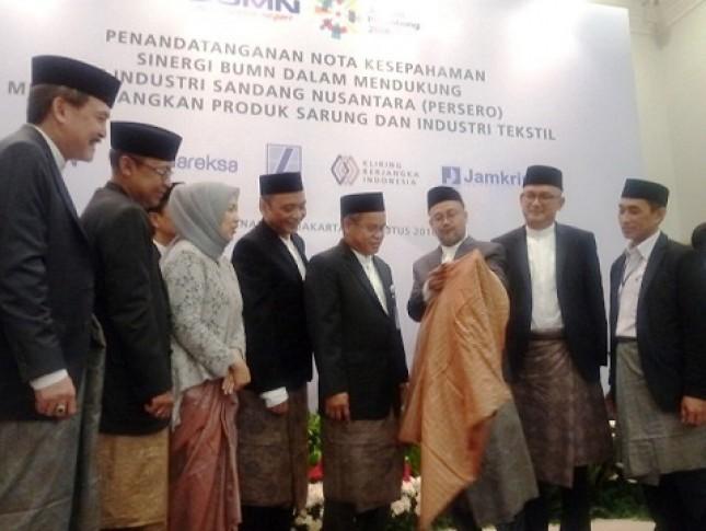Lima BUMN Bersinergi untuk Kembangkan Bisnis Industri Sandang Nusantara (Foto Aber)