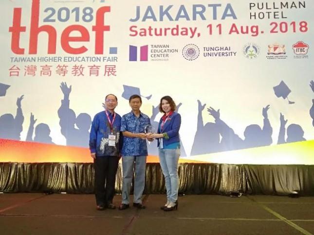 Taiwan Higher Education Fair 2018 kembali berlangsung di Hotel Pullman Central Park Jakarta. Sebanyak 37 kampus baik dari dalam luar turut memeriahkan acara tersebut yang berlangsung hari ini, Sabtu (11/8/2018).