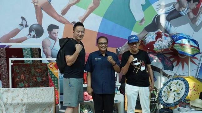 Negara Kazakhstan, tercatat sebagai delegasi Asian Games pertama yang mengunjungi Smesco Indonesia