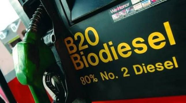 Ilustrasi Biodiesel 20 Persen (B20)