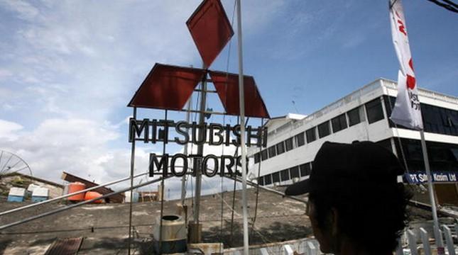 Mitsubishi. (Roslan Rahman/AFP)