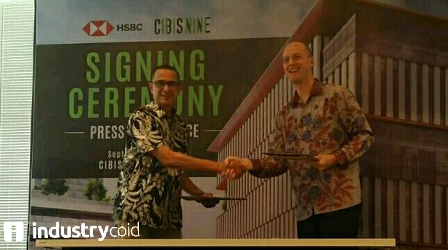 HSBC resmi tempati gedung perkantoran CIBIS NINE