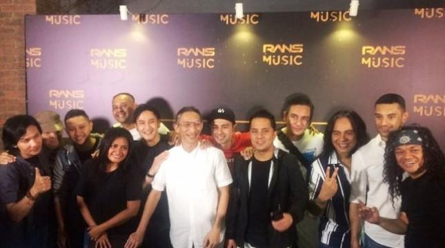 Sejumlah musisi senior bergabung dengan Perusahaan Musik milik Raffi Ahmad dan Nagita Slavina