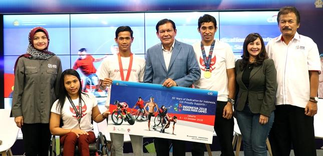 Citi Indonesia Dukung Penyelenggaraan Indonesia 2018 Asian Para Games
