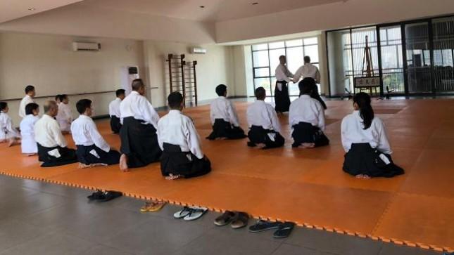 Ikiru Dojo sebagai salah satu pusat pelatihan Aikido mengundang Yoshinobu Irie, seorang pelatih senior (Shihan) asal Hombu Aikido Tokyo(22/9) ke Jakarta.