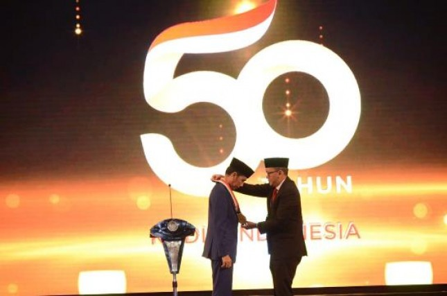 Presiden Jokowi hUT Kadin (Foto Herlambang)