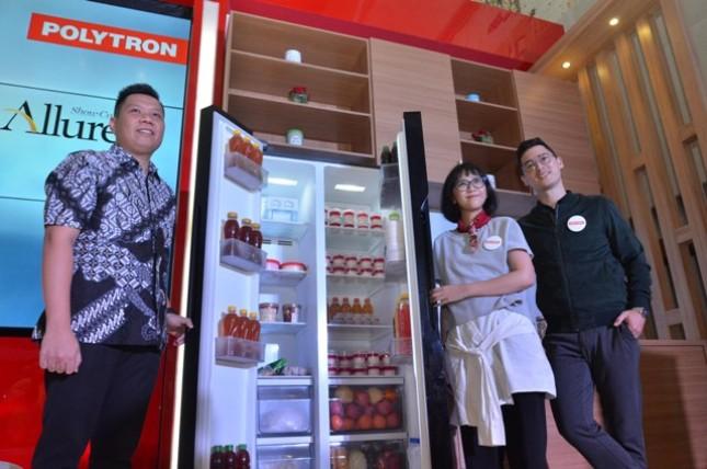 Polytron Indonesia meluncurkan Polytron New Belleza Inverter dan Polytron Allure. Kedua produk ini adalah paduan teknologi dan solusi desain revolusioner yang dihadirkan Polytron Indonesia untuk menjawab kebutuhan konsumen urban.
