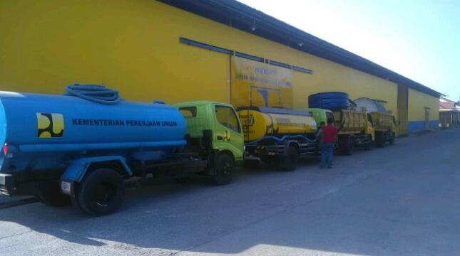 Bantuan Air Bersih Kementerian PUPR