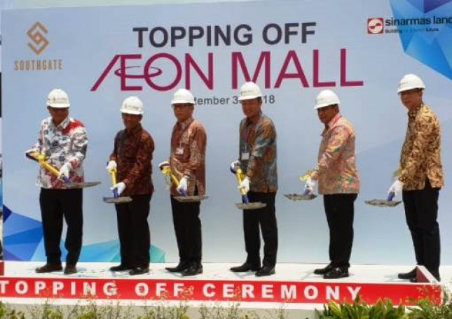Sinar Mas Land Menggelar Topping Off AEON Mall (Foto Dok Industry.co.id)