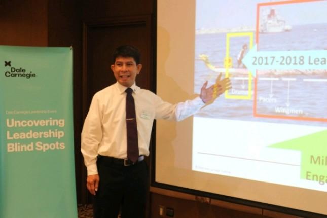 Director National Marketing Dale Carnegie Indonesia Joshua Siregar